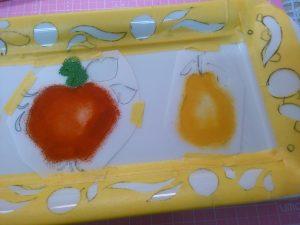 果物ステンシルその2