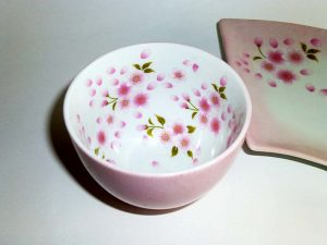 桜模様で作った作品
