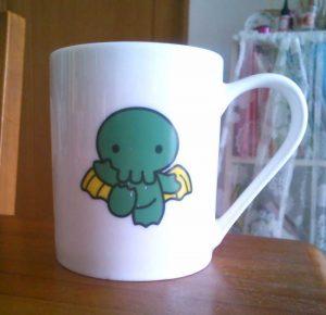 Cthulhuのマグカップ