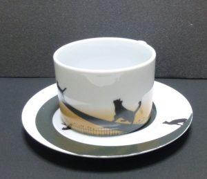 土星のネコ カップ&ソーサーその5
