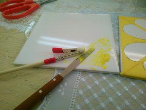 絵の具の濃度調整