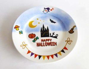 ハロウィンのお皿